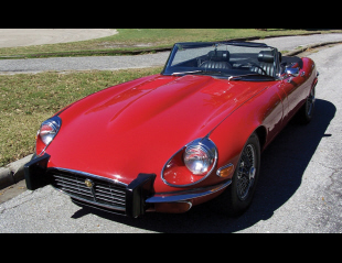 1974 JAGUAR XKE CONVERTIBLE -  - 40223
