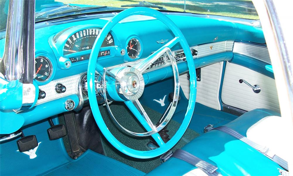 1956 FORD THUNDERBIRD CONVERTIBLE - Interior - 40224