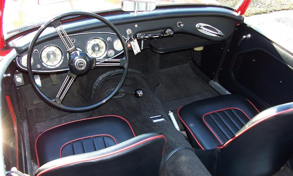 1961 AUSTIN-HEALEY 3000 MARK I CONVERTIBLE - Interior - 40225