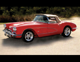1958 CHEVROLET CORVETTE CONVERTIBLE -  - 40226