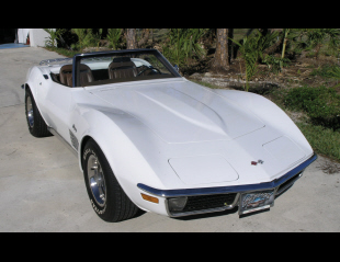 1971 CHEVROLET CORVETTE CONVERTIBLE -  - 40227