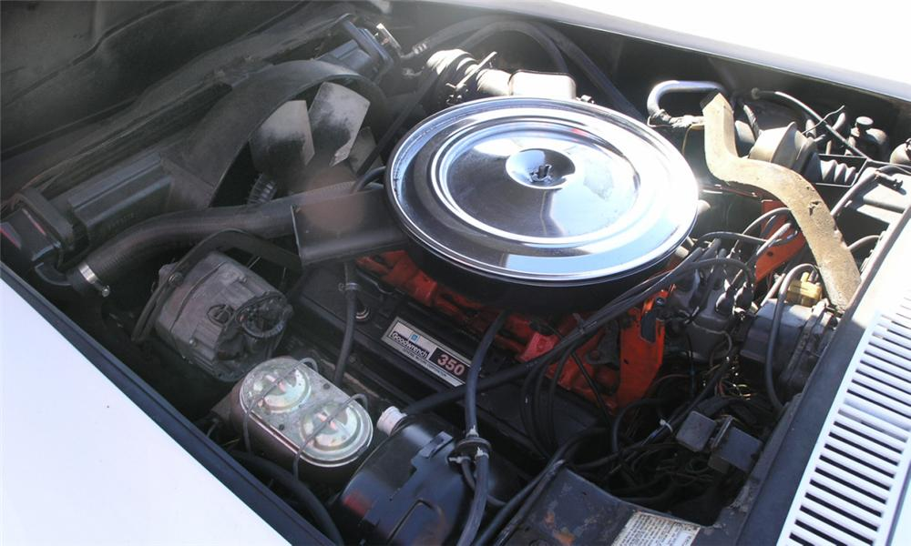 1971 CHEVROLET CORVETTE CONVERTIBLE - Engine - 40227