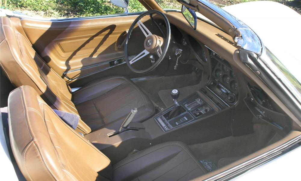 1971 CHEVROLET CORVETTE CONVERTIBLE - Interior - 40227