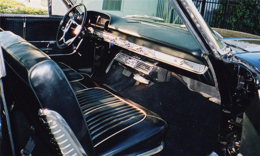 1964 FORD GALAXIE 500 CONVERTIBLE - Interior - 40228