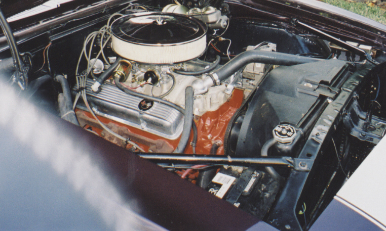 1967 CHEVROLET CAMARO CONVERTIBLE - Engine - 40229
