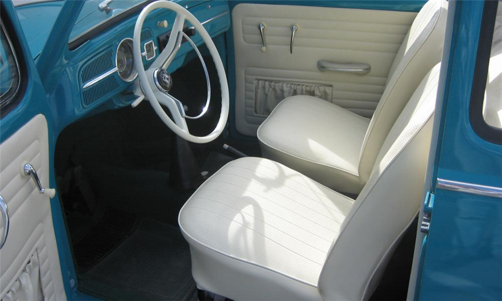 1962 VOLKSWAGEN BEETLE COUPE - Interior - 40232