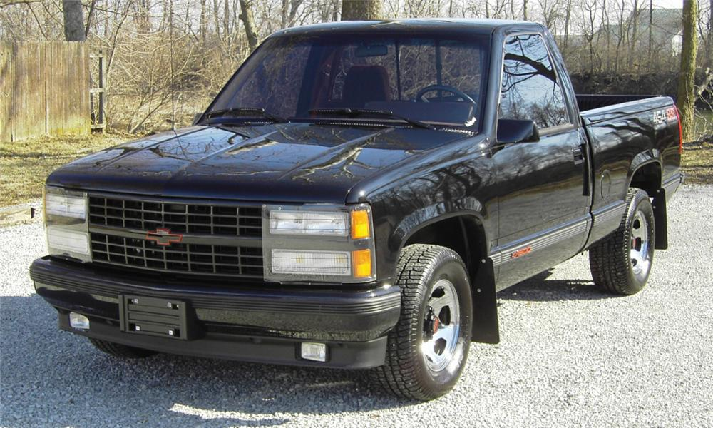 1990 CHEVROLET 1500 SS PICKUP - Front 3/4 - 40233