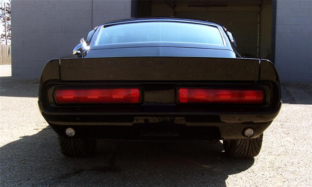 1967 FORD MUSTANG ELEANOR RE-CREATION - Rear 3/4 - 40234