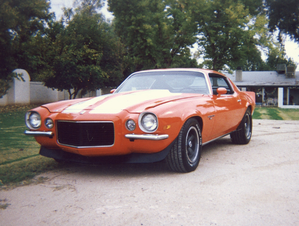 1970 CHEVROLET CAMARO RS COUPE - Front 3/4 - 43045
