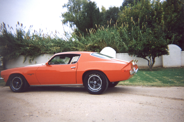 1970 CHEVROLET CAMARO RS COUPE - Side Profile - 43045