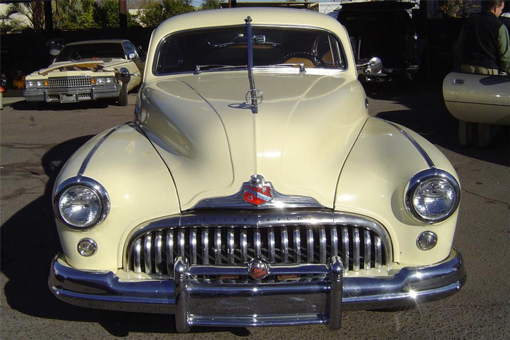 1948 BUICK ROADMASTER SEDANETTE 2 DOOR FASTBACK - Engine - 43051