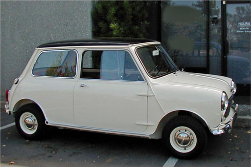 1966 AUSTIN MINI COOPER S 2 DOOR SEDAN - Side Profile - 43241