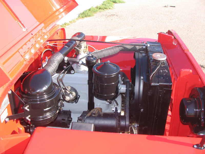 1948 WILLYS JEEP CJ2A   - Engine - 43248