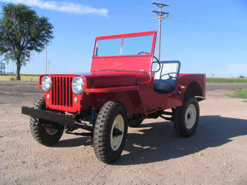 1948 WILLYS JEEP CJ2A   - Front 3/4 - 43248