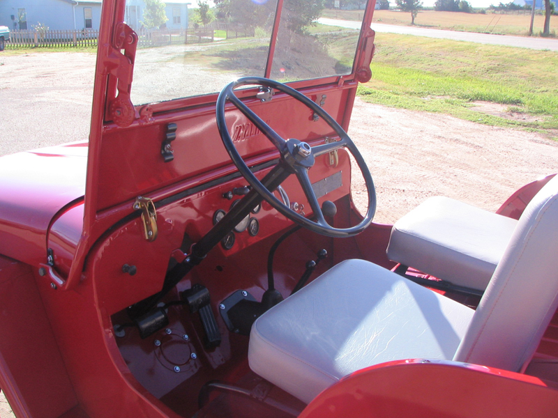 1948 WILLYS JEEP CJ2A   - Interior - 43248