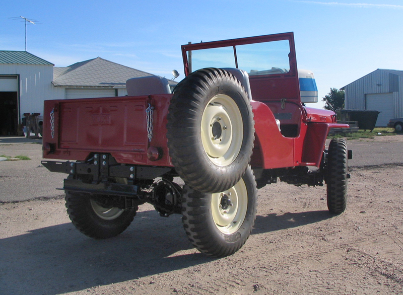 1948 WILLYS JEEP CJ2A   - Rear 3/4 - 43248