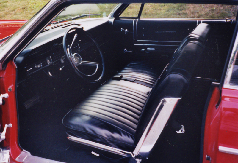 1965 FORD GALAXIE 500 2 DOOR HARDTOP - Interior - 43249