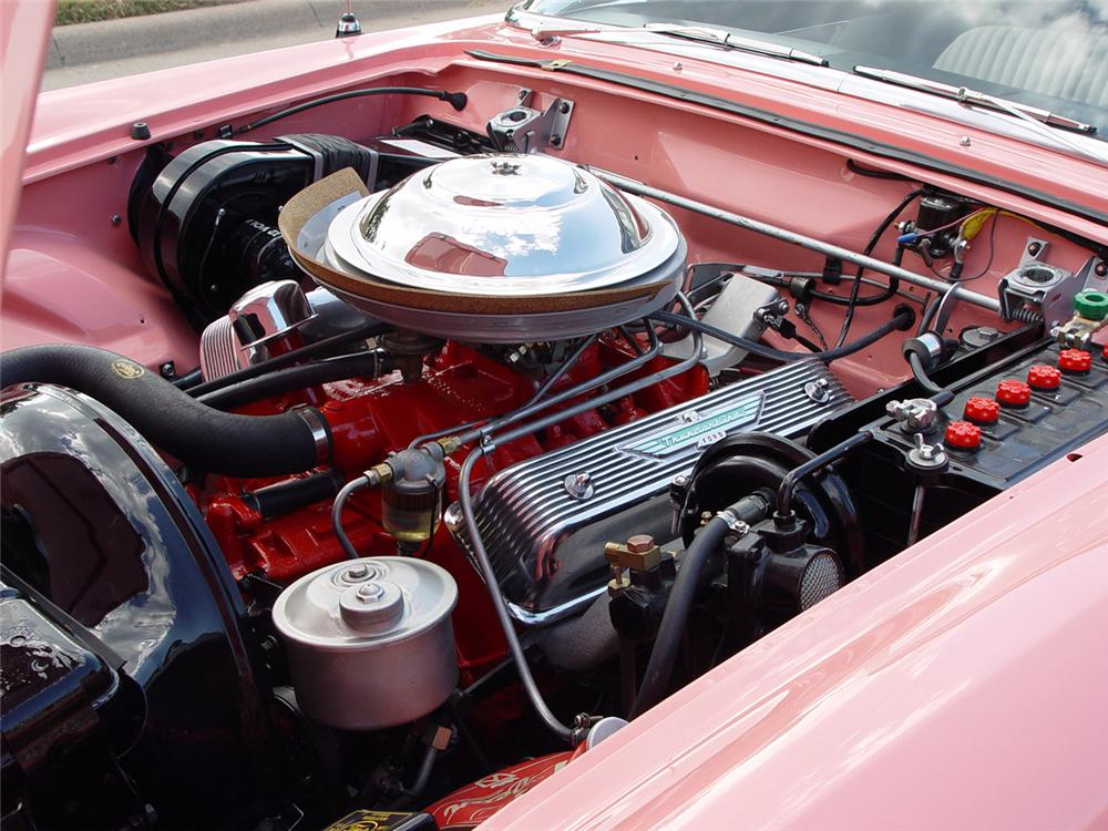 1956 FORD THUNDERBIRD CONVERTIBLE - Engine - 43251