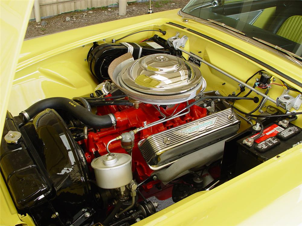 1955 FORD THUNDERBIRD CONVERTIBLE - Engine - 43253