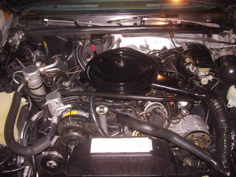 1987 OLDSMOBILE CUTLASS 2 DOOR COUPE - Engine - 43262