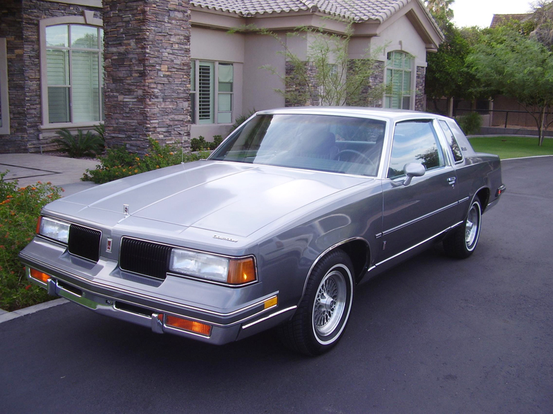 1987 OLDSMOBILE CUTLASS 2 DOOR COUPE - Front 3/4 - 43262