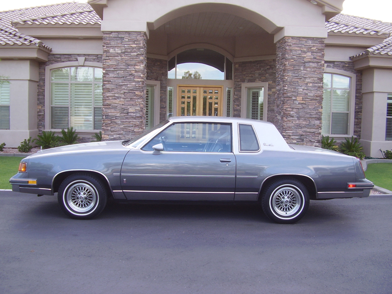 1987 OLDSMOBILE CUTLASS 2 DOOR COUPE - Side Profile - 43262
