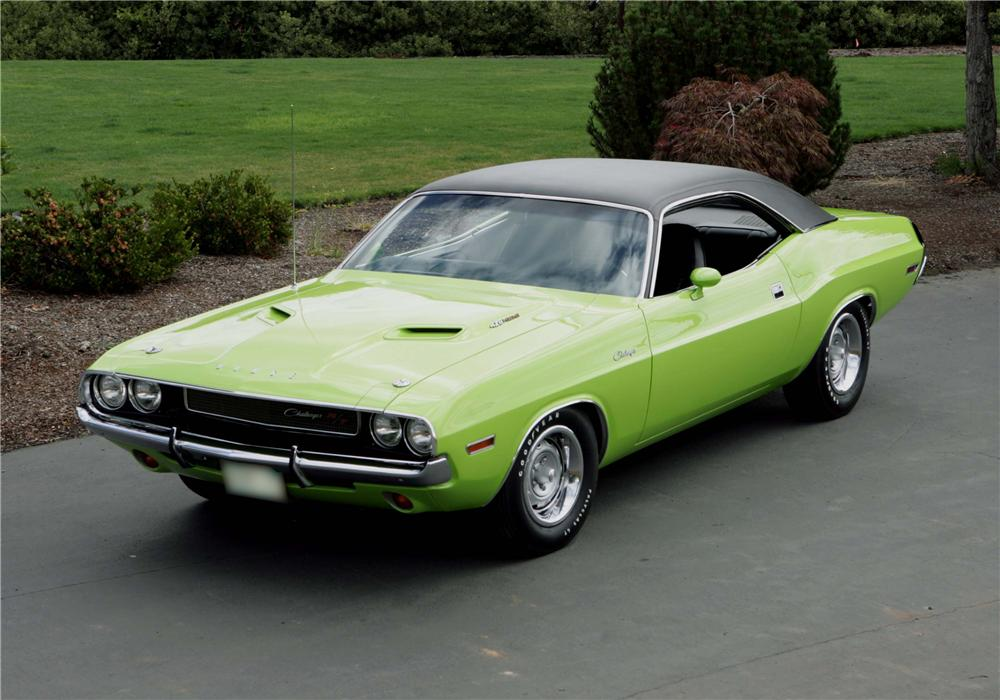 1970 dodge hemi challenger r t 2 door hardtop 43264. Black Bedroom Furniture Sets. Home Design Ideas