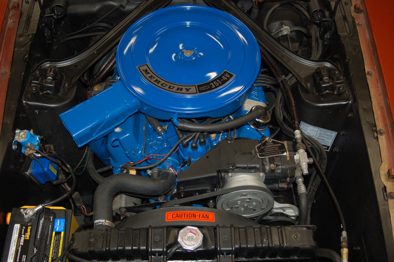1969 MERCURY COUGAR CONVERTIBLE - Engine - 43268