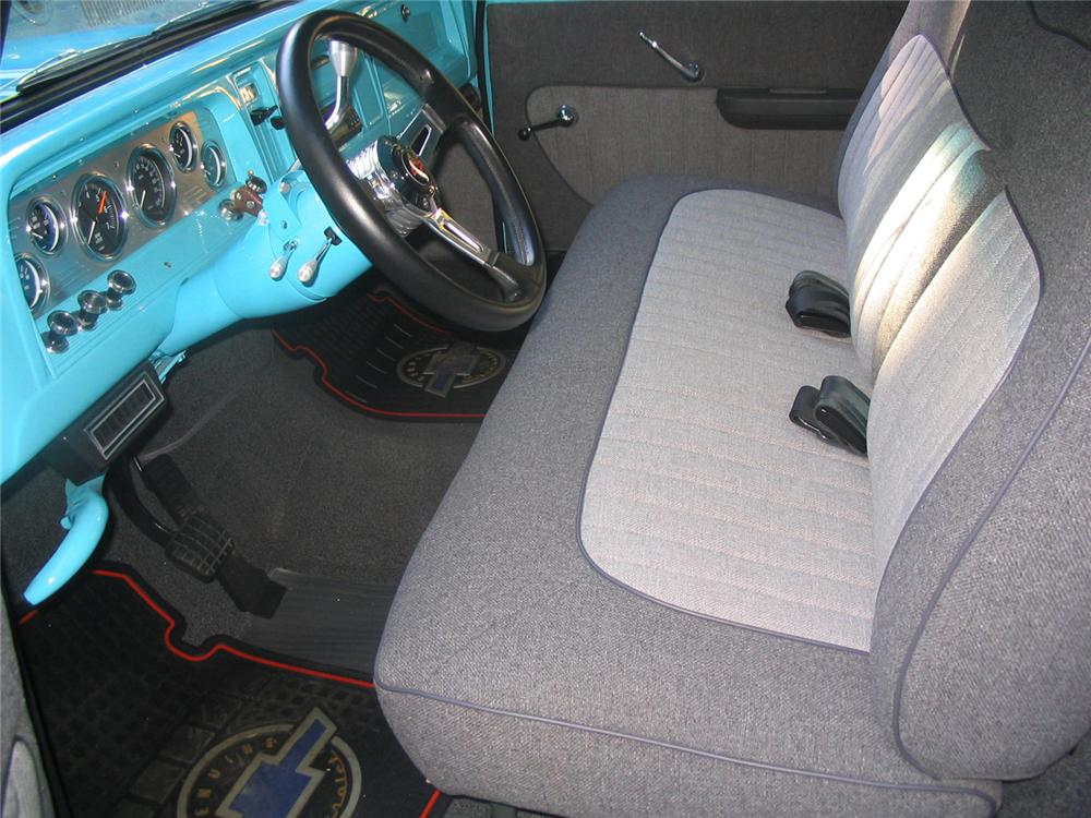 1966 CHEVROLET FLEETSIDE CUSTOM PICKUP - Interior - 43269