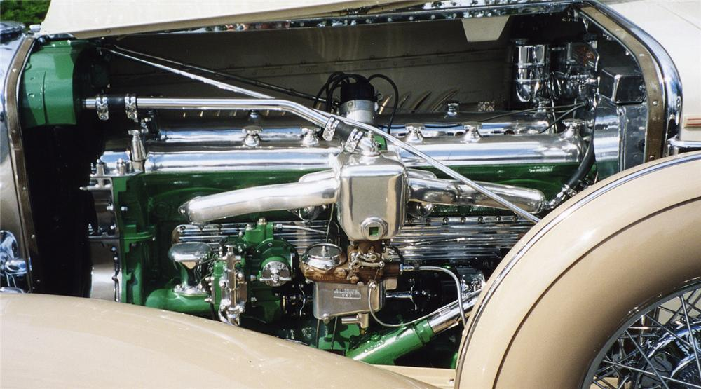 1930 DUESENBERG J ARLINGTON SEDAN - Engine - 43271