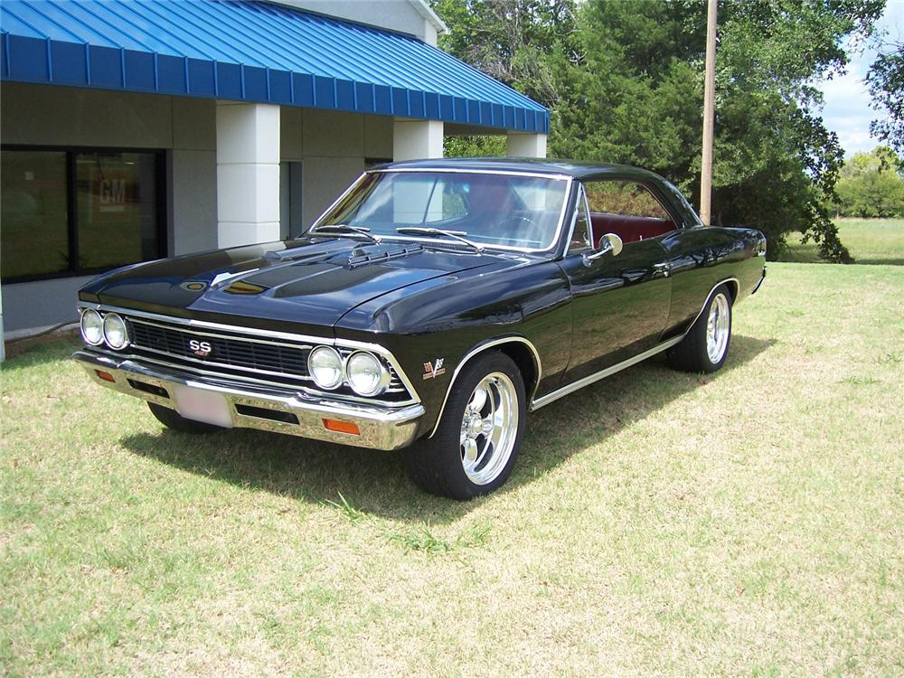 1966 CHEVROLET CHEVELLE SS 2 DOOR COUPE - Front 3/4 - 43273