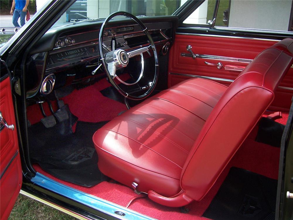 1966 CHEVROLET CHEVELLE SS 2 DOOR COUPE - Interior - 43273