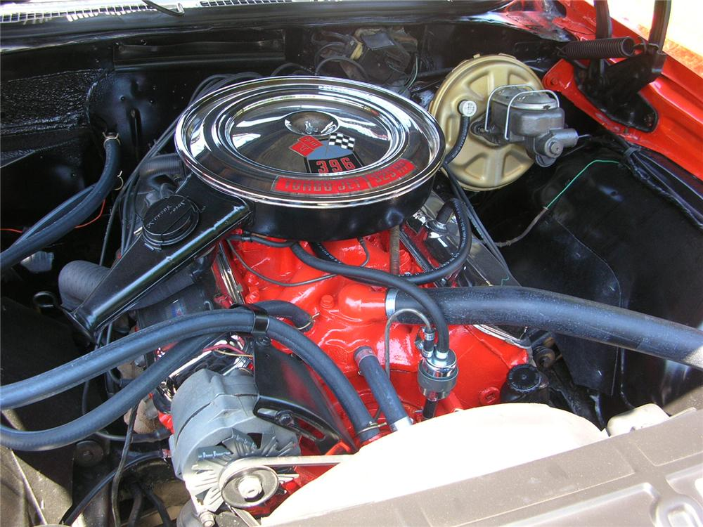 1969 CHEVROLET CHEVELLE SS 396 CONVERTIBLE - Engine - 43276