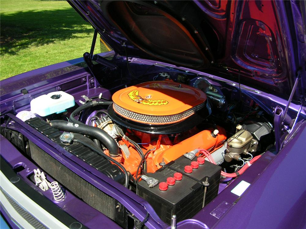 1970 PLYMOUTH ROAD RUNNER 2 DOOR HARDTOP - Engine - 43279