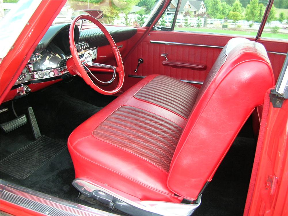 1962 CHRYSLER 300 2 DOOR HARDTOP - Interior - 43284