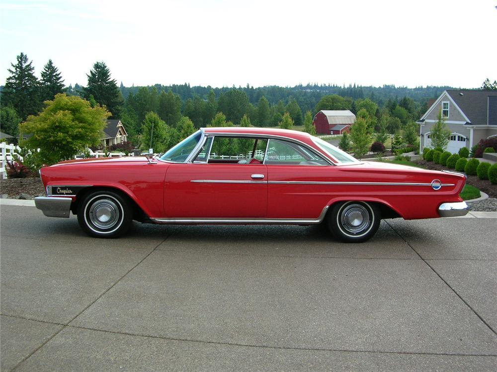 1962 CHRYSLER 300 2 DOOR HARDTOP - Side Profile - 43284