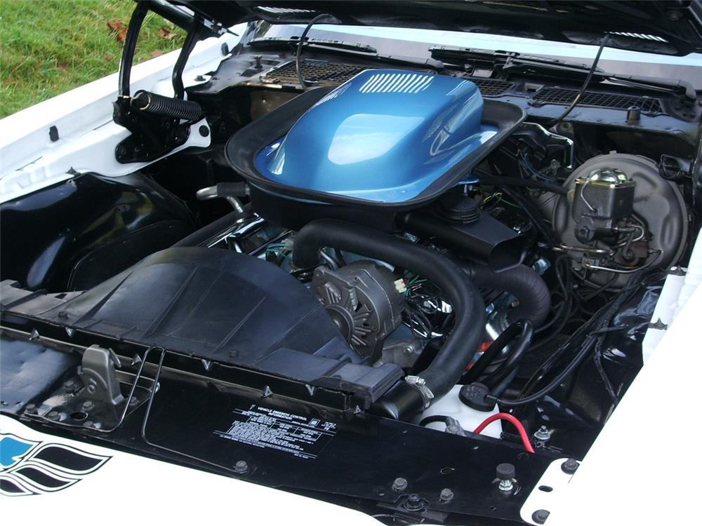 1970 PONTIAC TRANS AM COUPE - Engine - 43285