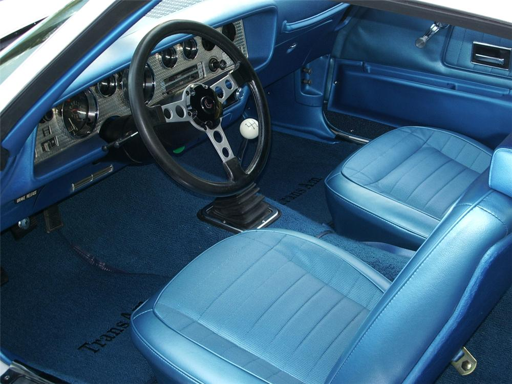 1970 PONTIAC TRANS AM COUPE - Interior - 43285