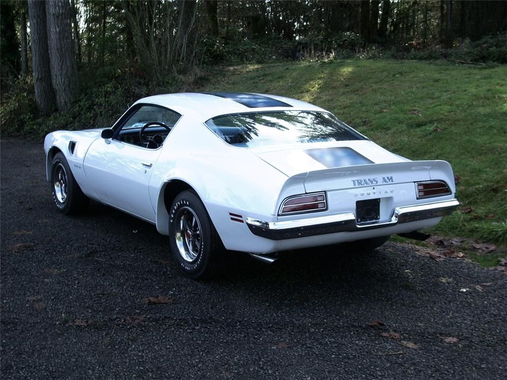 1970 PONTIAC TRANS AM COUPE - Rear 3/4 - 43285