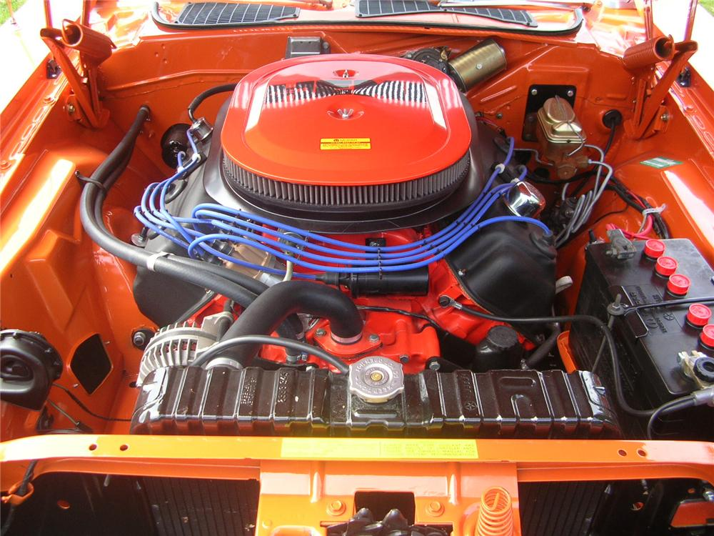 1970 DODGE CHALLENGER R/T HEMI RE-CREATION CONVERTIBLE - Engine - 43286