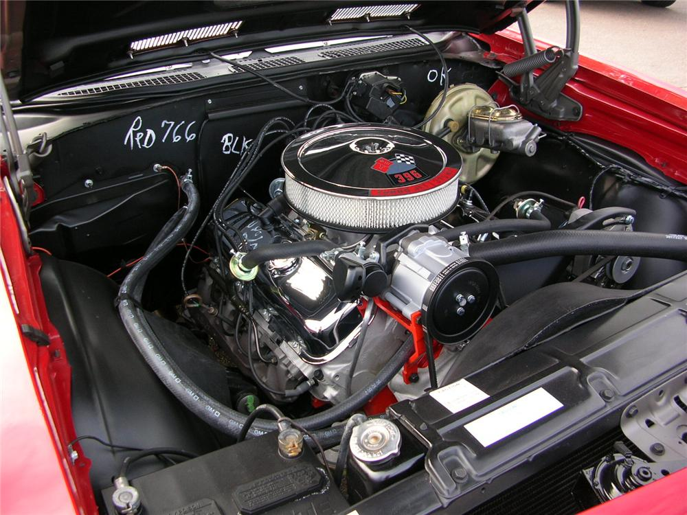 1968 CHEVROLET CHEVELLE SS 396 CONVERTIBLE - Engine - 43289