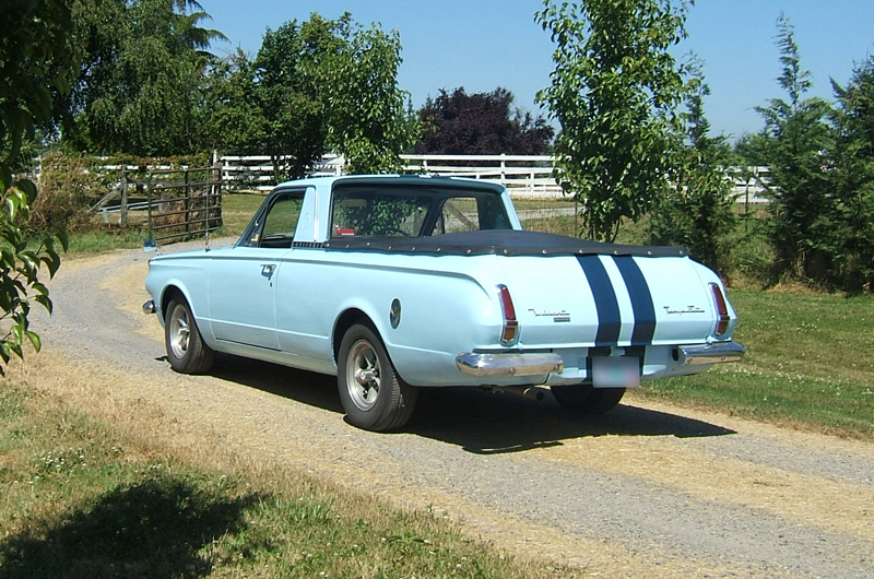 1964 CHRYSLER VALIANT PICKUP - Rear 3/4 - 43296