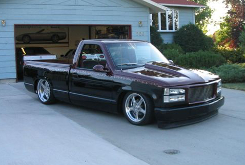 1993 CHEVROLET SILVERADO 1500 CUSTOM PICKUP - 43300