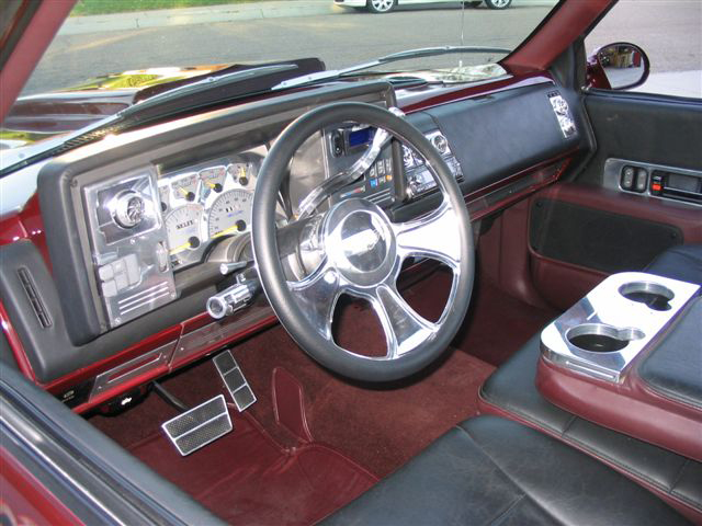1993 CHEVROLET SILVERADO 1500 CUSTOM PICKUP - Interior - 43300