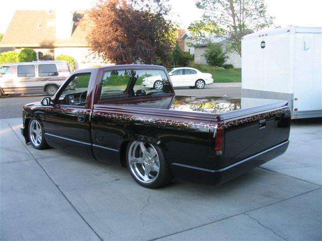 1993 CHEVROLET SILVERADO 1500 CUSTOM PICKUP - Rear 3/4 - 43300