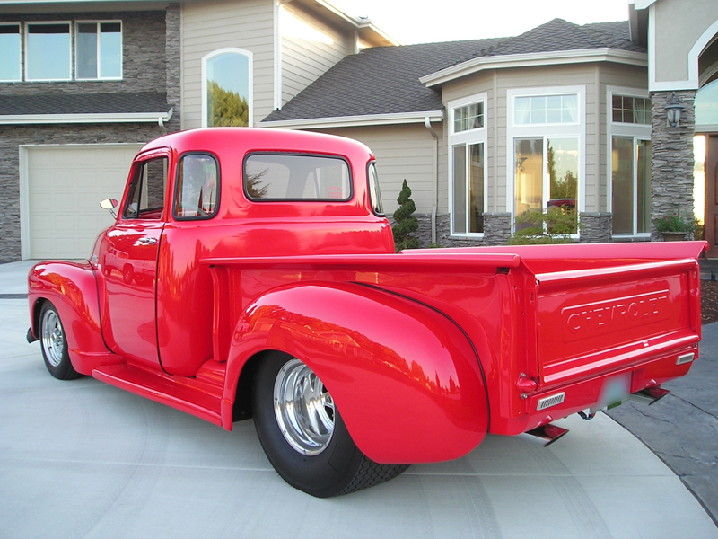 1952 CHEVROLET 3100 PICKUP - Rear 3/4 - 43301