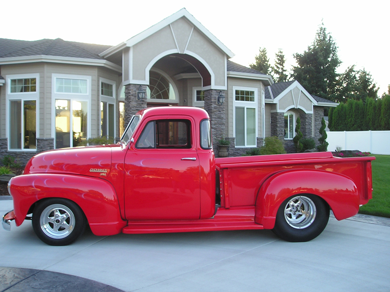 1952 CHEVROLET 3100 PICKUP - Side Profile - 43301