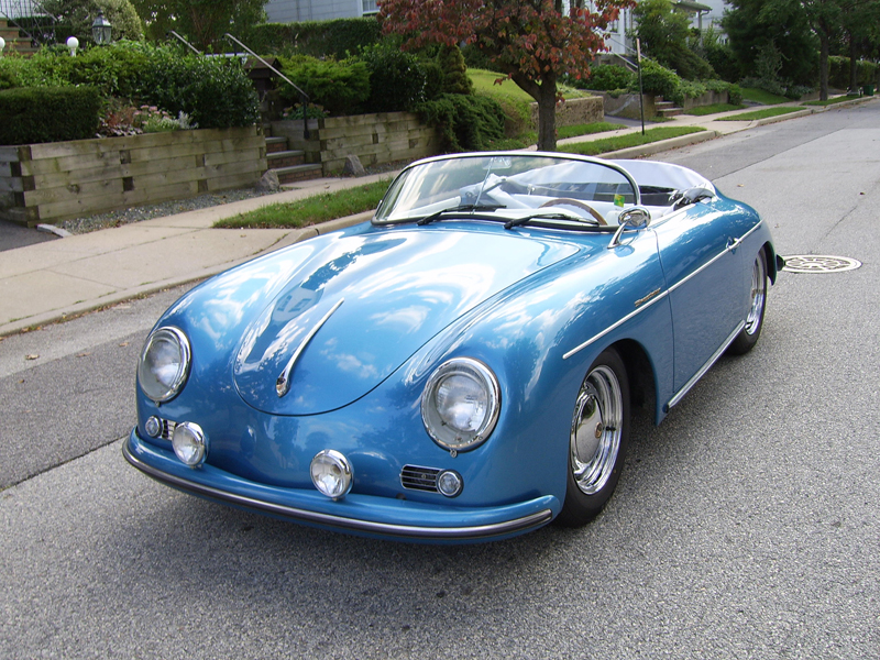 1956 PORSCHE 356 SPEEDSTER RE-CREATION - Front 3/4 - 43303