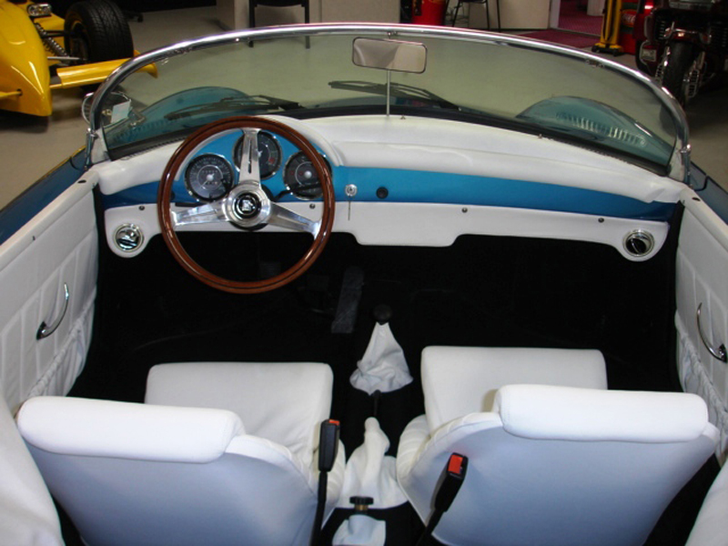 1956 PORSCHE 356 SPEEDSTER RE-CREATION - Interior - 43303