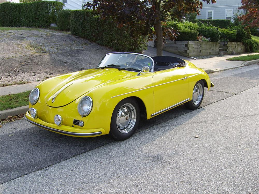 1956 Porsche 356 Speedster Re Creation 43304